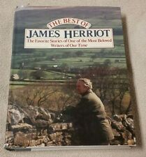 THE BEST OF JAMES HERRIOT Favorite Stories HBDJ 1983 First Edition Book VGC
