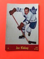 Joe Klukay 1955-56 Parkhurst #6  Vintage Hockey Card