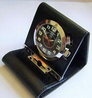 Orig. Chopard Mille 1000 Miglia Reisewecker Tisch Uhr Travel Alarm Quarz