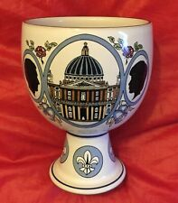 DENBY Lovely Commemorative Goblet - Wedding of Prince Charles & Princess Diana