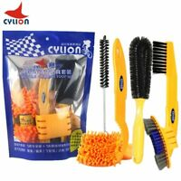 Bicycle Tool Kits Tire Brushes Road MTB Cleaning Gloves Chain Tool Cleaners Sets