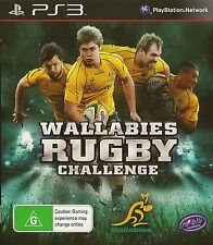 PLAYSTATION 3 WALLABIES RUGBY CHALLENGE PS3 GAME
