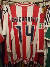 Chivas Guadalajara football shirt 2006/07 édition limitée grand ~ Chicharito 14