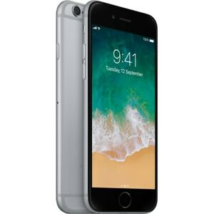 Apple iPhone 6 16GB/32GB/64GB - Unlocked - Various Colors -Space Silver Warranty