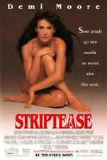 Striptease (1996) original movie poster - double-sided - rolled