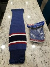 "Brand New Ccm Hockey Socks Pro-Weight Youth 24"""
