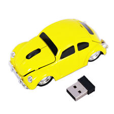 Cool 2.4G Classic Beetle Wireless car Mouse game mice for PC Laptop Mac Gift