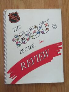 THE 1980's DECADE in REVIEW Spiral Guide WAYNE GRETZKY RAY BOURQUE MARIO LEMIEUX