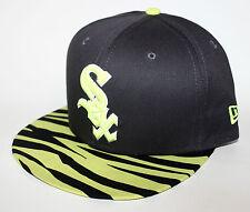PICK1 Chicago White Sox Neon Volt Animal Print Brim 9FIFTY New Era SnapBack Volt