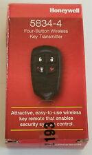 New Honeywell 5834-4 Four Button Wireless Key Transmitter