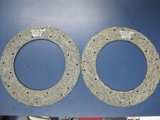2 International Harvester Clutch Driven Disc Lining Facing 30718 Dxa 219 X 16