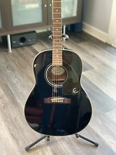 Epiphone by Gibson Black Acoustic Guitar Excellent Playing Condition