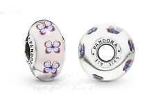 NEW 2019 -Pandora Butterfly Murano charm (genuine ale S925) 797893