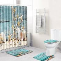 3x tapis antidérapant tapis de toilette tapis de bain lavable tapis ensemble PS