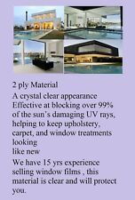 "Window Film 99% UV Protection Fade Control Clear Ceramic 60 "" x 100' Intersolar®"