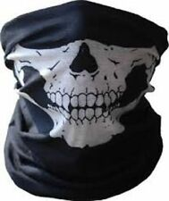 Bicycle BIKE Ski Skull Half Face Mask Ghost Scarf Multi Use Neck Warmer COD NEW