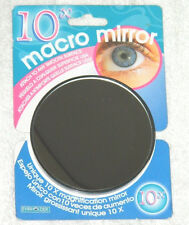 New Evriholder Brand 10X Macro Mirror with Suction Cups