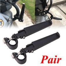 "Motorcycle 1"" 1-1/4"" 1.25"" Engine Guard Crash Bar U-clamp Foot Pegs Footrest Usa(Fits: Mastiff)"