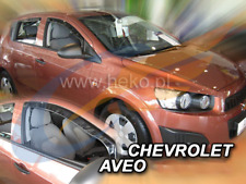 CHEVROLET AVEO 4/5-doors 2011-2016 2-pc wind deflectors HEKO Tinted