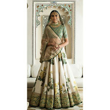cd1589789f Floral Lehenga Choli indian Wedding Wear Pakistani Art Silk Embroidery Work  S672