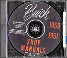 1950 1951 Buick CD Shop Manual Special Super Roadmaster includes Dynaflow Repair