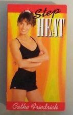 cathe friedrich  STEP HEAT   VHS VIDEOTAPE