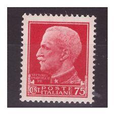 REGNO 1929  -  IMPERIALE    CENTESIMI   75    NUOVO  **