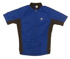 Canari Commuter Cycling Reflective Jersey Mens Medium M  Deep Blue Short Sleeve