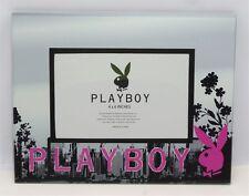 "Playboy City Photo Frame Holds 1, 6""x 4"" Photo Frame Size 23x18cm"