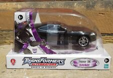 Transformers Alternators Jaguar XK Ravage Decepticon New sealed 2006 Rare