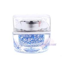 Snowflake Blue 8ml UV Builder Glitter Powder Color Gel Nail Art Acrylic Polish