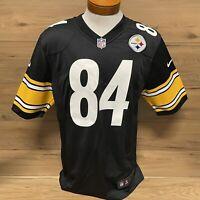 Nike NFL On Field Pittsburgh Steelers Antonio Brown #84 Jersey Black Mens Medium