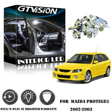 6Pcs Super Bright White Kit LED Interior Car Light For Mazda Protege5 2002-2003