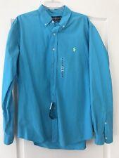 New Polo Ralph Lauren Small  Pony  Blue Shirt XLarge  XL  Custom fit
