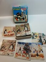 6 SCENES FAB *POSTMAN PAT* PUZZLE BLOCKS 9 WOODEN PICTURE CUBES IN BOX