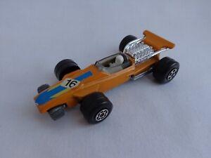 Vintage Matchbox Lesney Superfast No34 Formula 1 Racing Car ORANGE RARE NMINT!