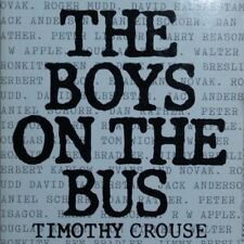 THE BOYS ON THE BUS, TIMOTHY CROUSE, paperback, 1993 20th printing, VGC