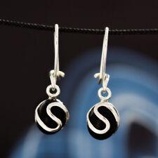 Onyx Silber 925 Ohrringe Damen schmuck Sterlingsilber H180