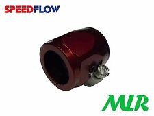 Speedflow 22MM ID DASH 10 -10 Rojo Aeroquip Manguera Trenzada Tubo rematador CLIP OA