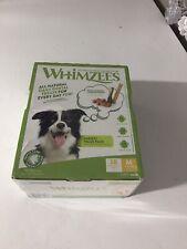 Whimzees Medium Variety Box-  Natural Dental Dog Treats- Medium 28 Pack