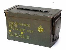 Army Surplus Ammo Box. 5.56 mm / .50 cal