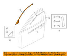 MAZDA OEM 14-17 6 Front Door-Upper Molding Trim Left GHP950985G
