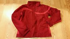 Columbia Womens Coat / Jacket Large Red Zipper Down Ladies REALLY NICE CUTE WARM