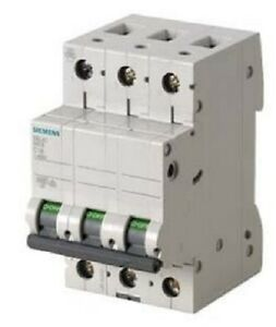 Siemens - Circuit Breaker 400V, 6kA, 3 Pole, C, 63A (Box of 4)