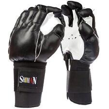 Bruce  BONG SAU Kempo Gloves  Kung Fu,Kempo Chinese Kickboxing Leather - LARGE
