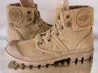 PALLADIUM Pallabrouse Baggy Damen Desert Boots, Beige(Woodlin/Honey) 9247827 Neu