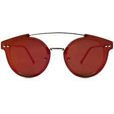 "NEW SPITFIRE Clear/Red ""TRIP HOP 2"" Retro Flat Lens Sunglasses -SALE"