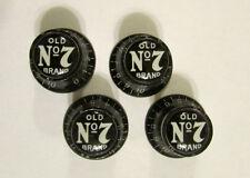 Old No 7 Guitar Knobs, Jack Daniel's logo volume Guitar Knobs, Jack Daniels No 7