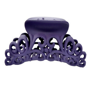 Large Size Scrub Acrylic Hair Claw Hollow Out Carving Hair Clamp Crab Hair Clip