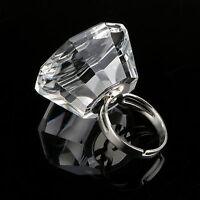 Eyelash Extension Crystal Glass Adhesive Glue Ring Holder Pallet